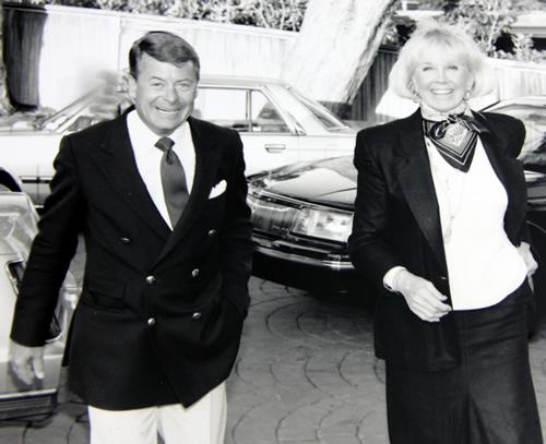 Actress Doris Day and businessman Dennis LeVett