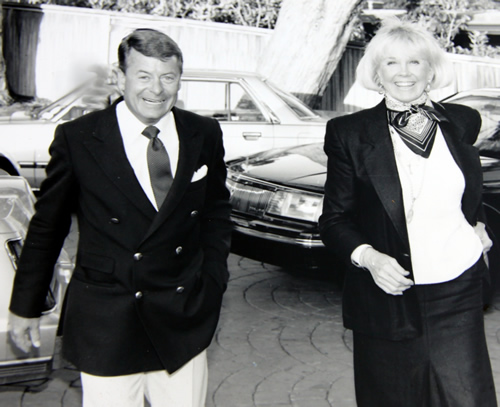 Actress Doris Day and businessman Dennis LeVett